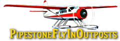 Pipestone Fly-In Outposts Logo